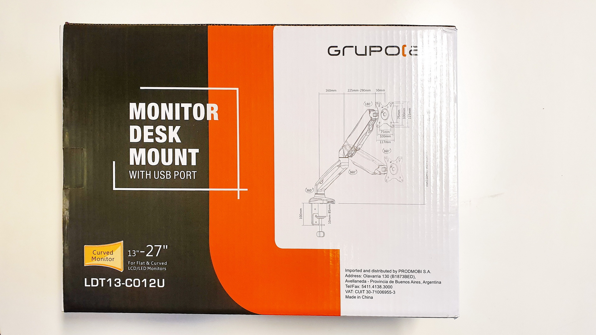 Brazo monitor a2