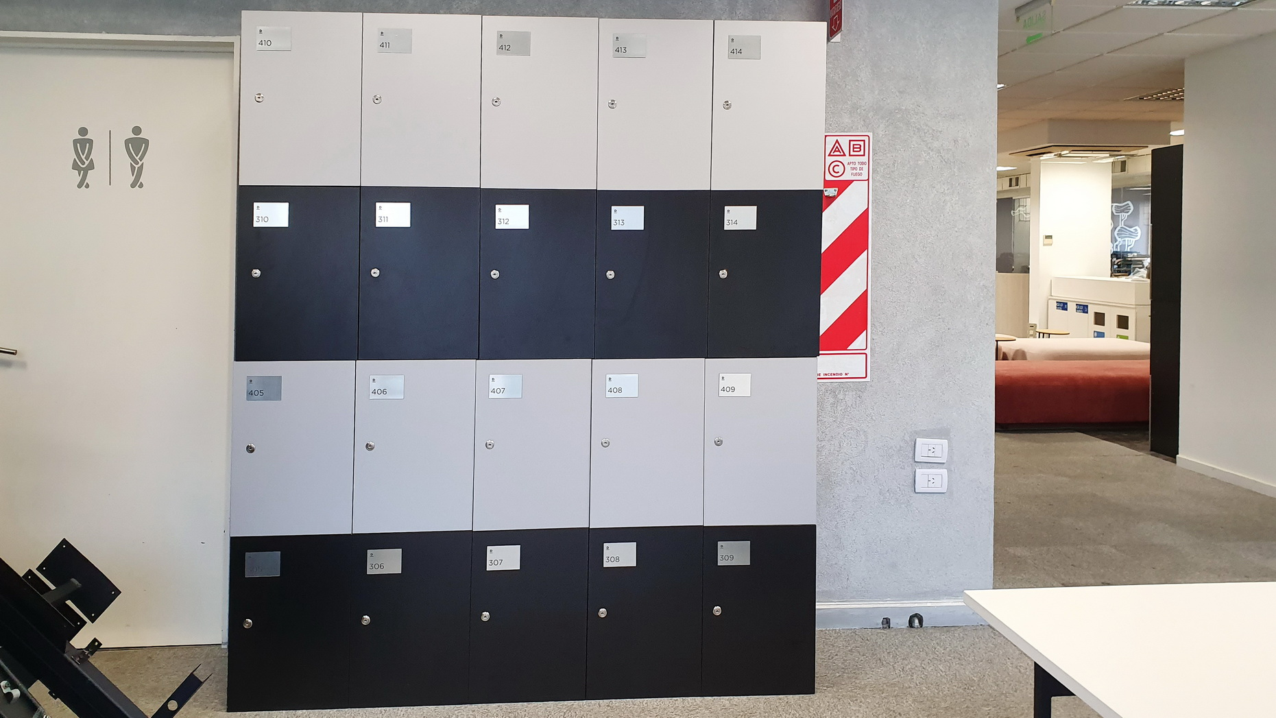 Lockers  1,76 x 0,50 x 2,00 m