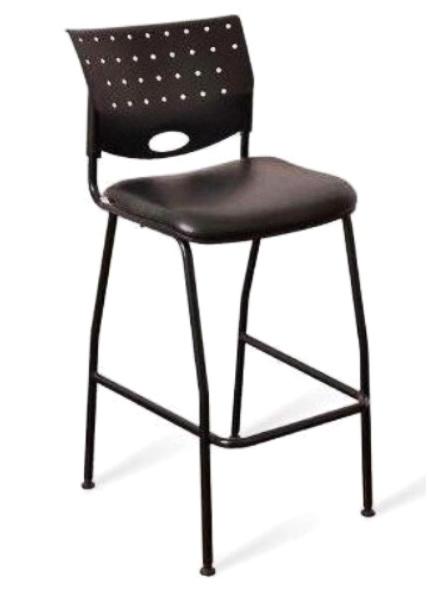 Athina taburete - negro