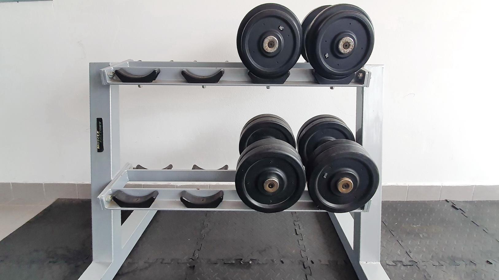 Sillas reclinables+ pesas